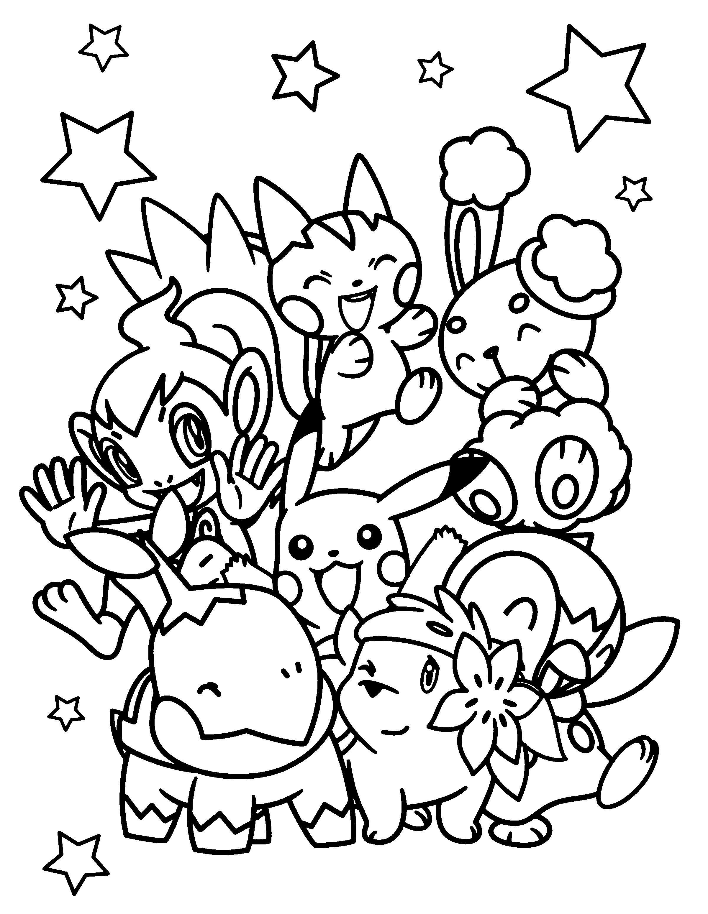 Kleurplaat Wat Een Pokemons Kleurplaten Gratis Kleurplaten Pokemon