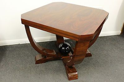 art deco style furniture occasional coffee. antique art deco style furniture dark occasional coffee table c221