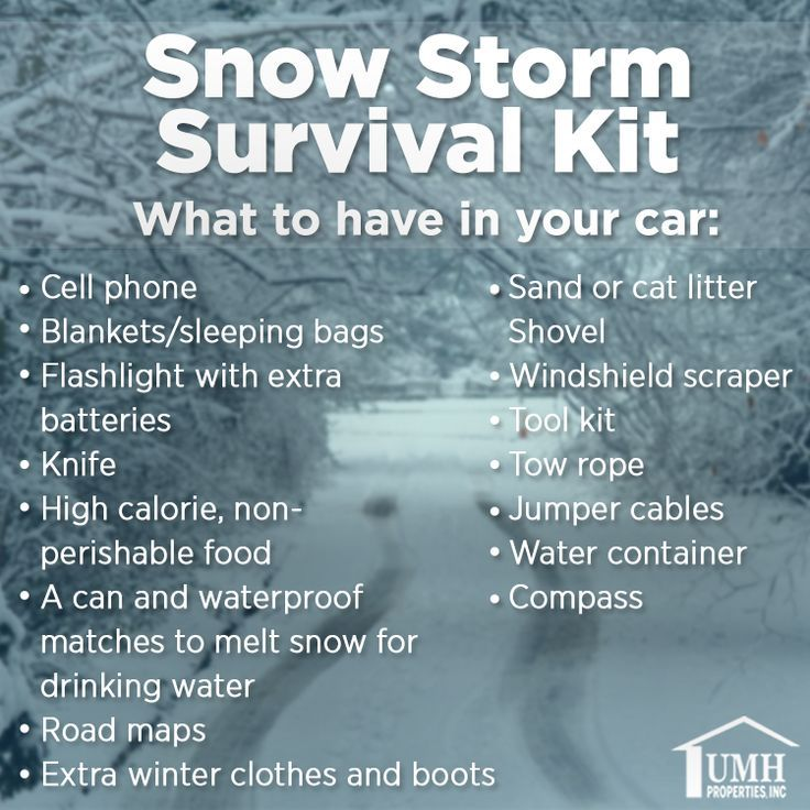 awesome The snow has hit heavy this month all over the country. Better to be safe than s... Prepare To Travel #wintersurvivalsupplies