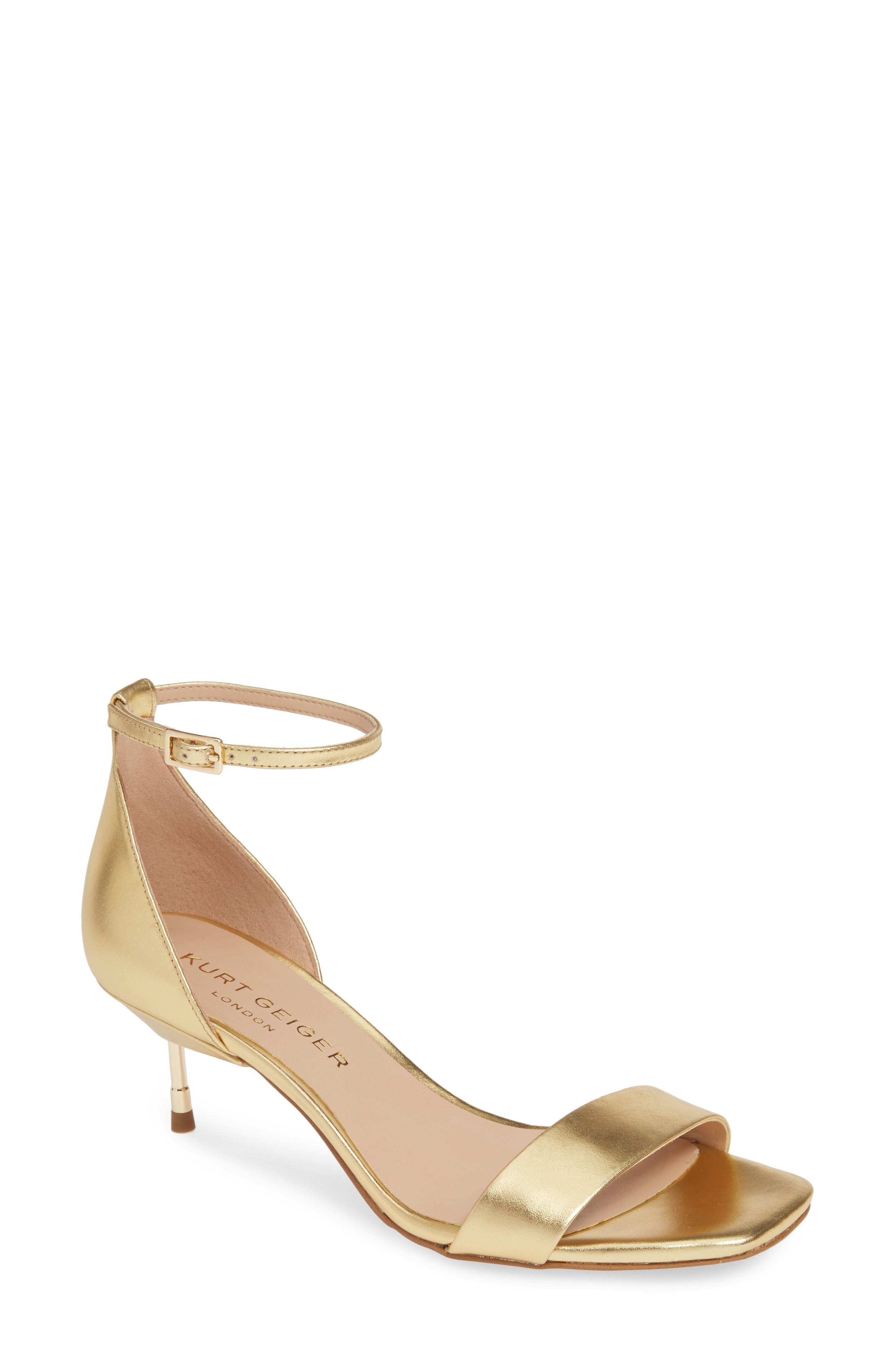 Women's Kurt Geiger London Birchin Halo Strap Sandal, Size