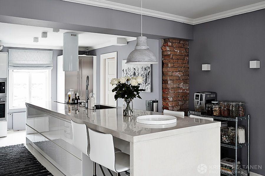 Interior Paluu Suomenlinnaan Kitchen Interior Kitchen Design