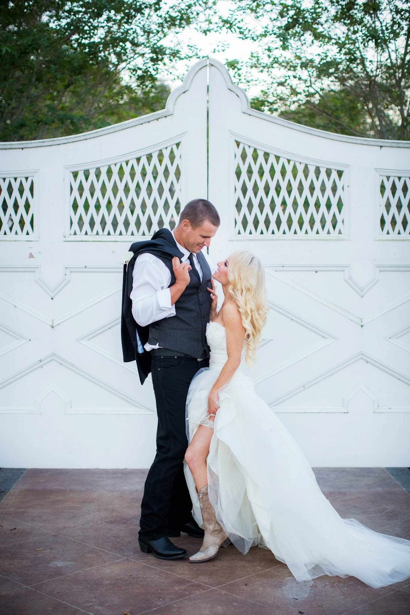 Wedding dresses with cowgirl boots  oldgringo sexyboots  Wedding Photos  Pinterest  Cowboy boots