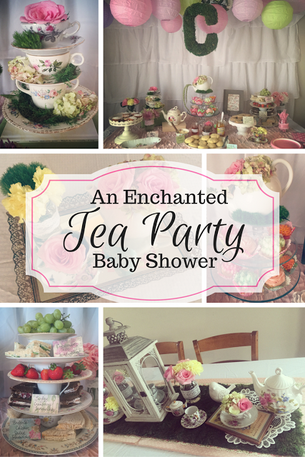enchanted tea party baby shower …  pinteres…, Baby shower invitation