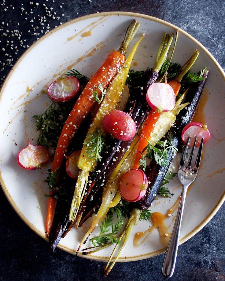 Turmeric Honey Roasted Carrots & Radishes The Original