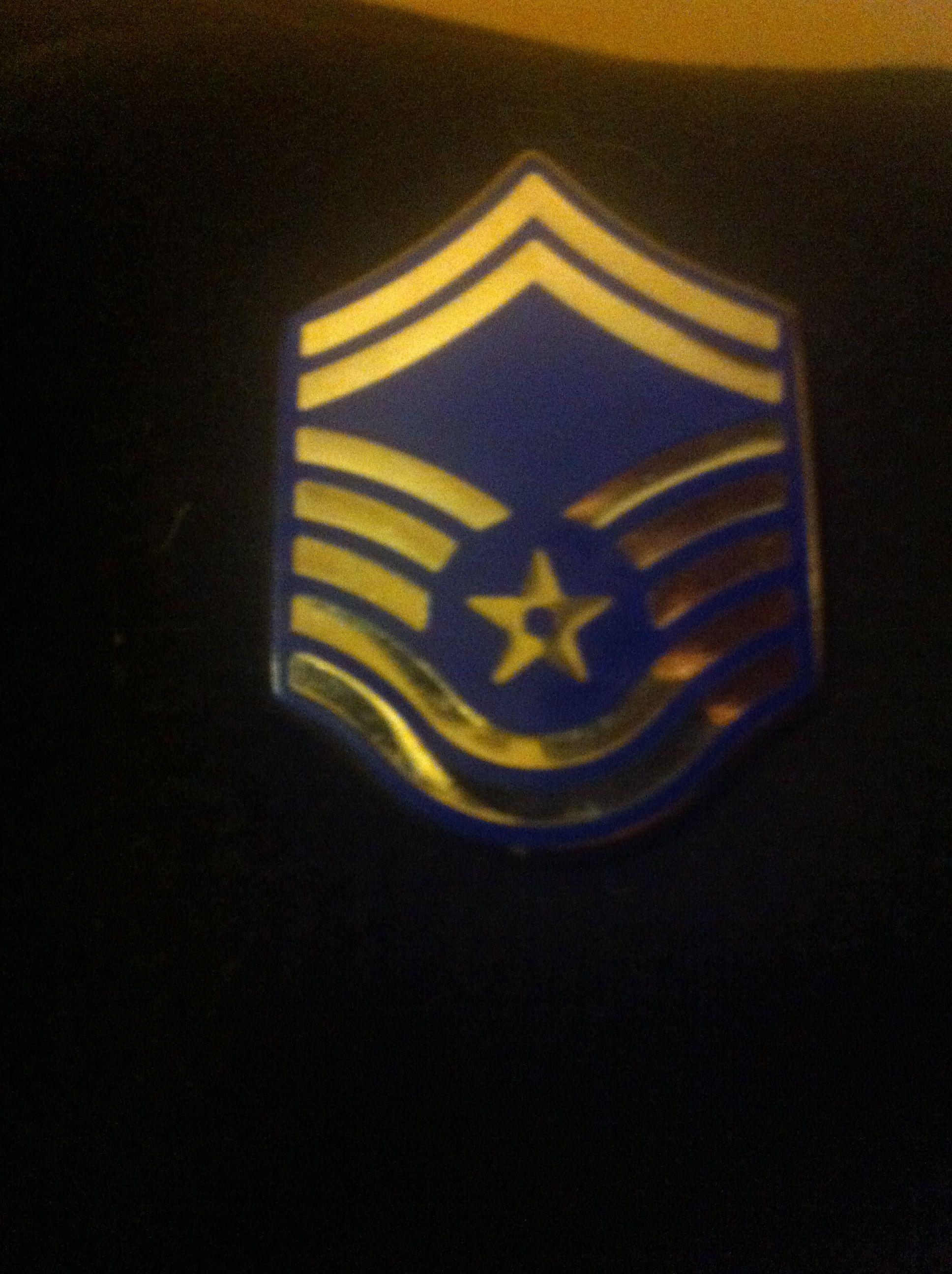 Air Force rank insignia, E8, Senior Master Sergeant