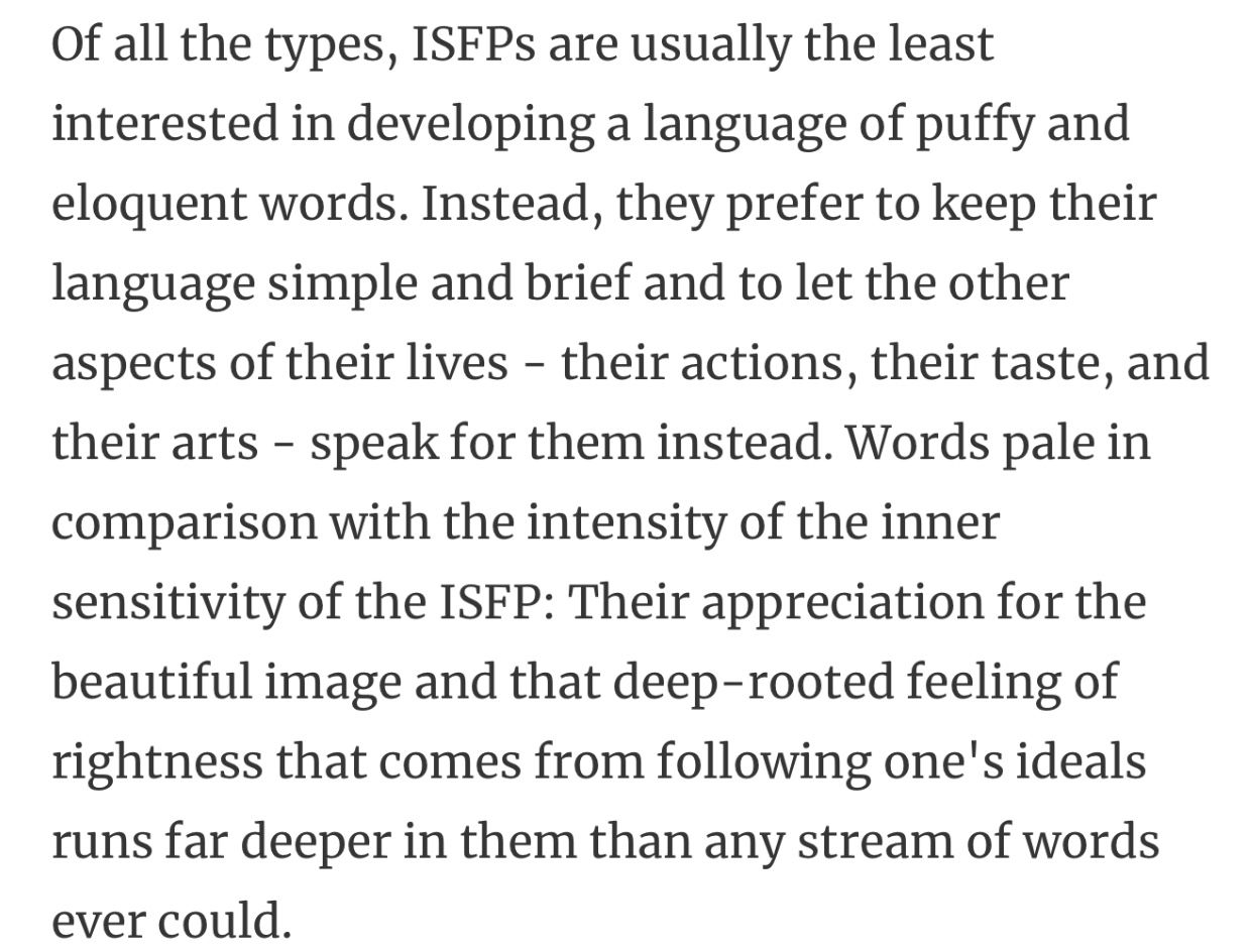 Pin by Christian Hoff on isfp/9 Isfp, Mbti personality