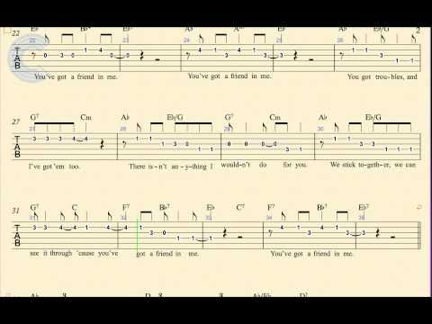 Guitar - You\'ve Got a Friend in Me - Randy Newman - Toy Story - TABs ...