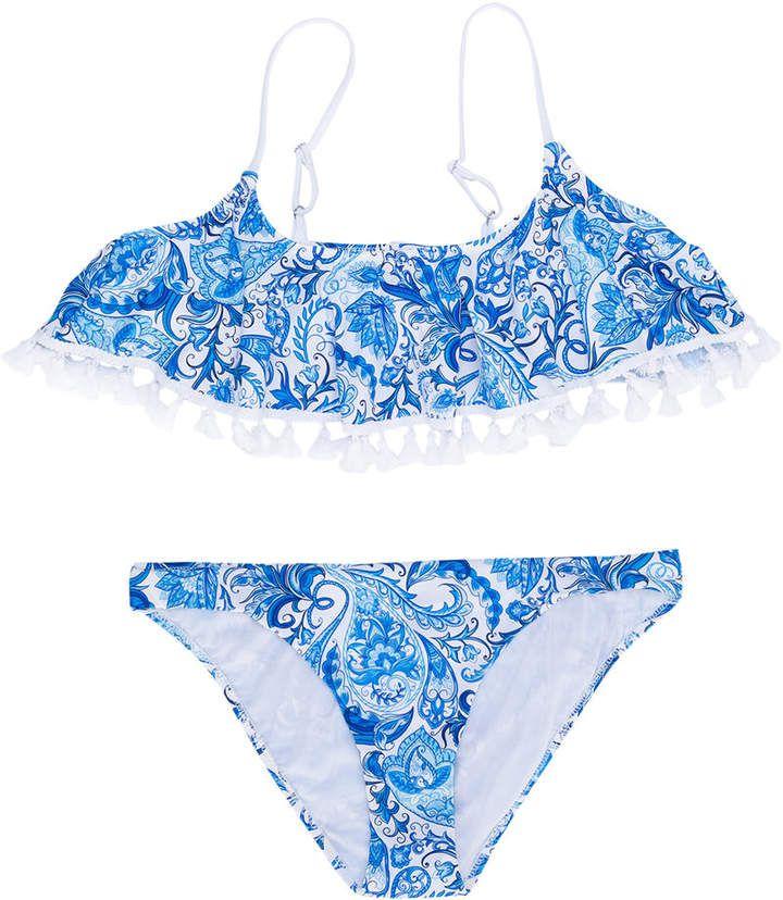 737c607e09 Mc2 Saint Barth Kids TEEN paisley print bikini #Saint#Kids#Barth ...