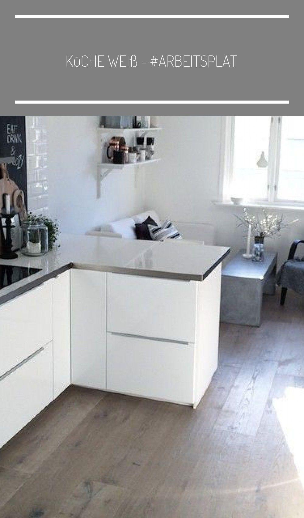 küche weiß - #arbeitsplatte #küche #weiß #offene küche