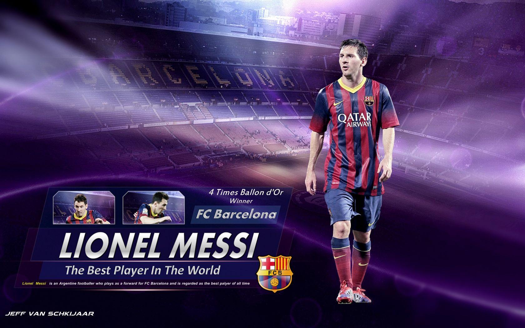 Wallpaper Full HD Messi