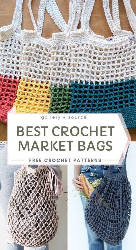 Best Crochet Market Bags - Free Patterns!