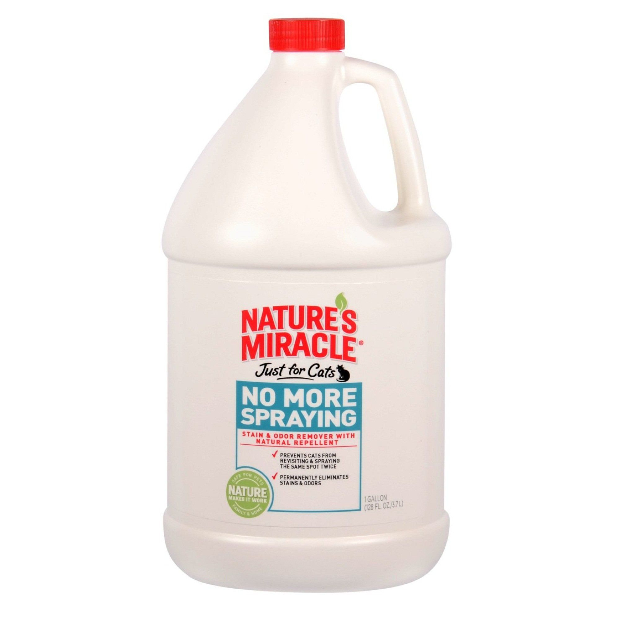 "Nature""s Miracle No More Spraying Stain and Odor Remover"