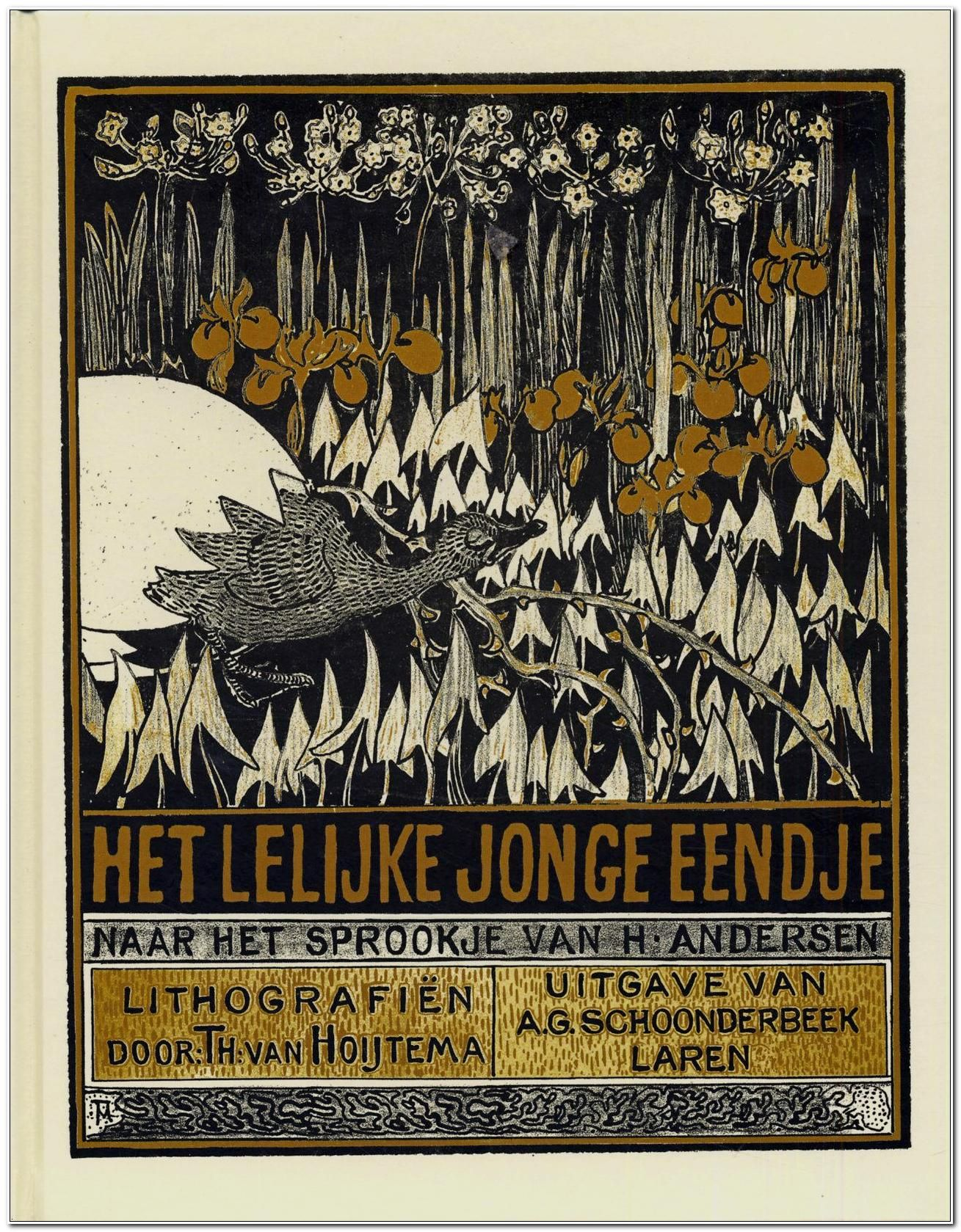 theo van hoytema illustration for the ugly duckling 1893 the