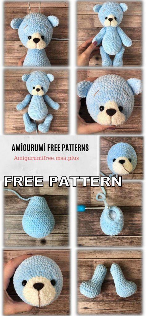 #crochetteddybears