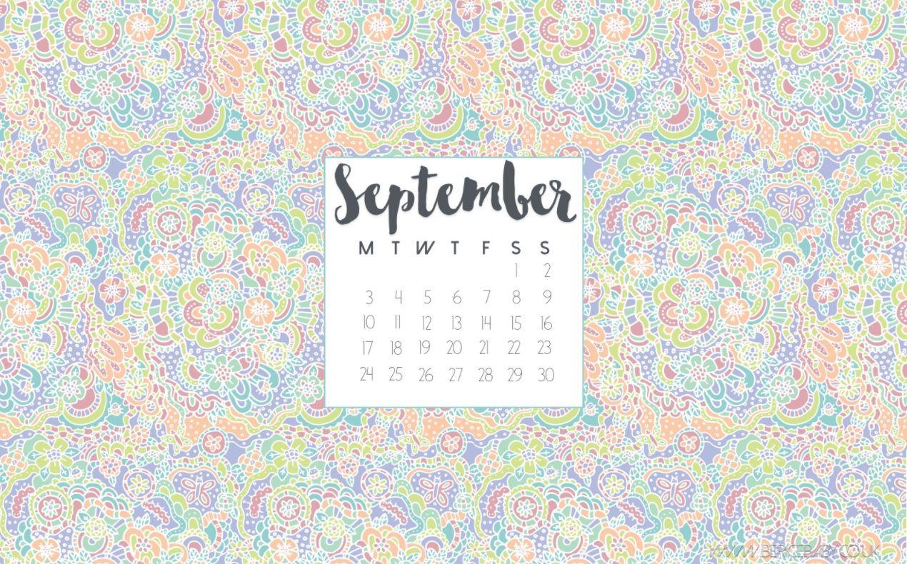 Best September 2018 Desktop Calendar Desktop Calendar Calendar Desk Calendars