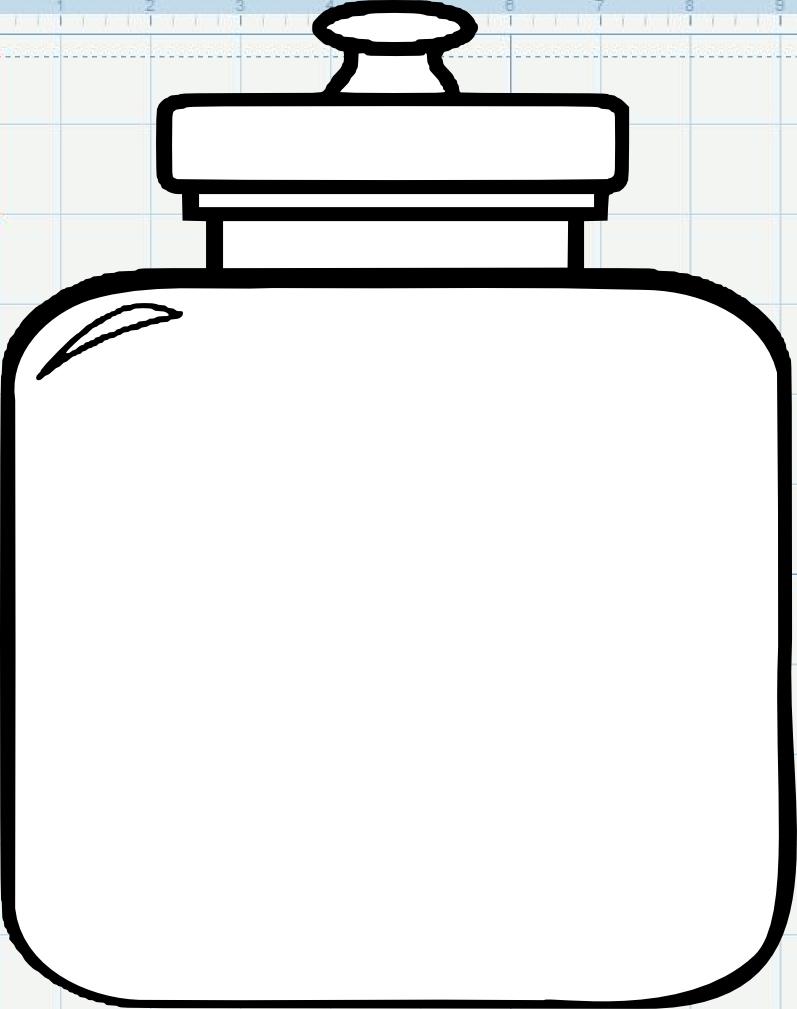 43+ Cookie jar coloring page info
