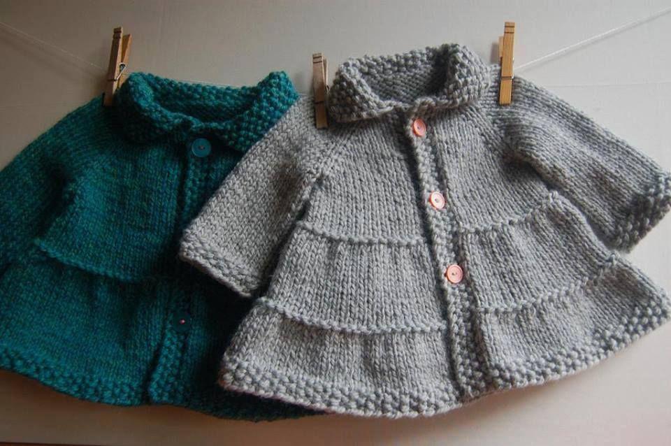 6 Crochet Art Baby Jacket Cardigan Knitting Patterns