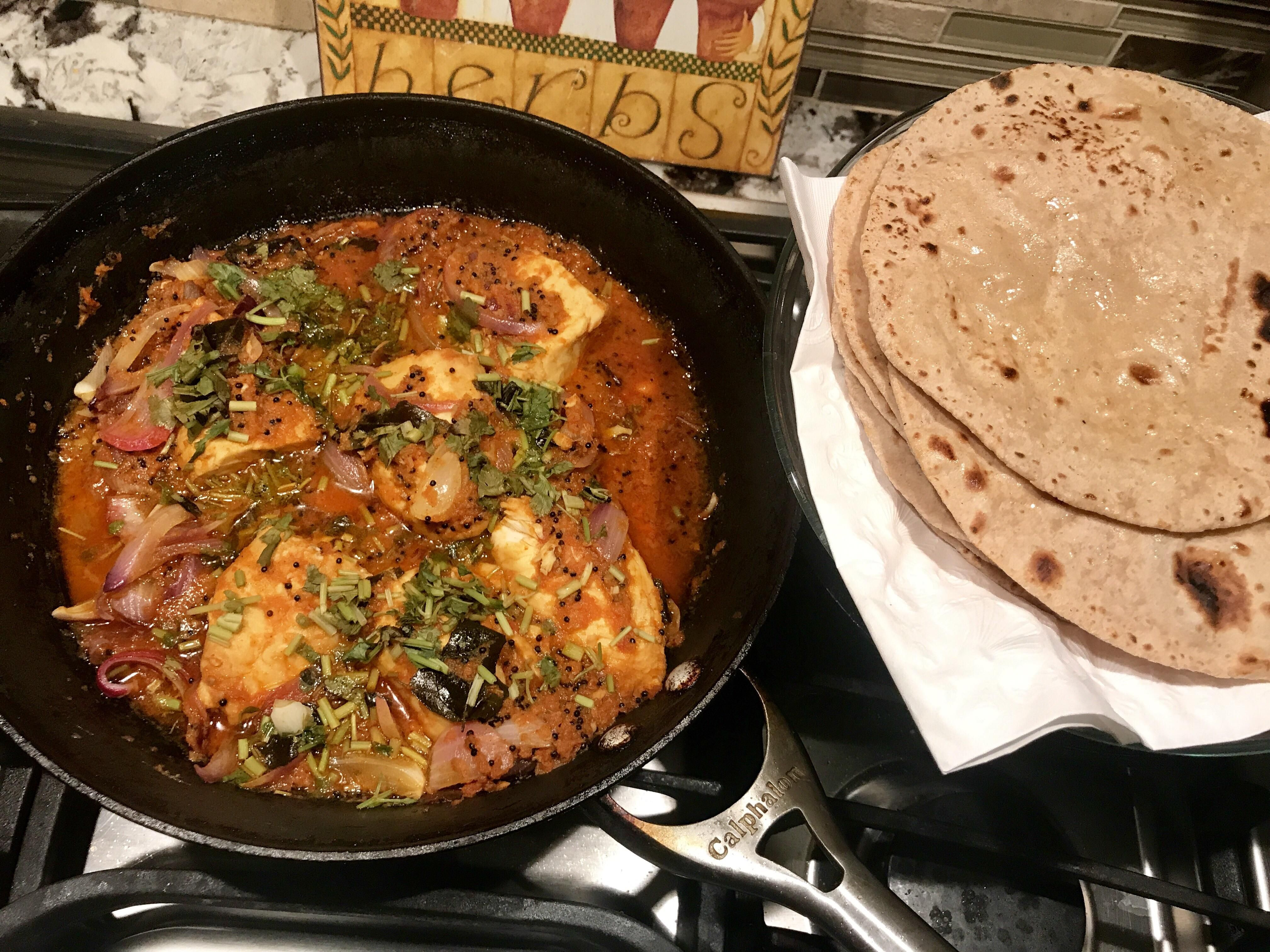 Homemade Fish Curry With Rotis Fish Curry Roti Curry
