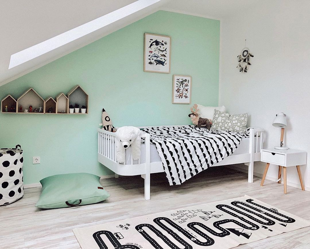 Top 10 Insta Kids Rooms Summer 2019 Kids Interiors Mint Green Bedroom Green Boys Room Green Girls Rooms