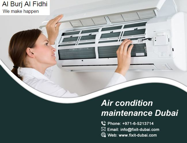 If you are finding an air condition maintenance Dubai, then contact us. We are providing you best air conditioning maintenance. https://goo.gl/4QMhvc