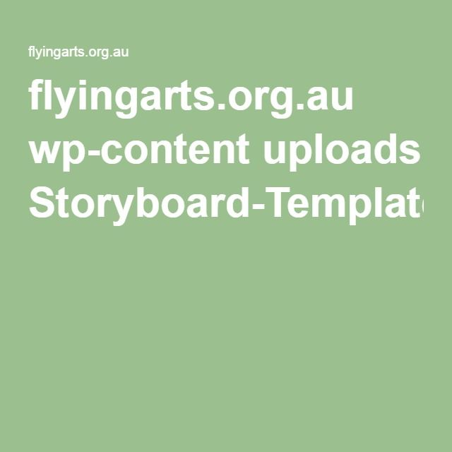 flyingartsorgau wp-content uploads Storyboard-Templatepdf Art - storyboard template pdf