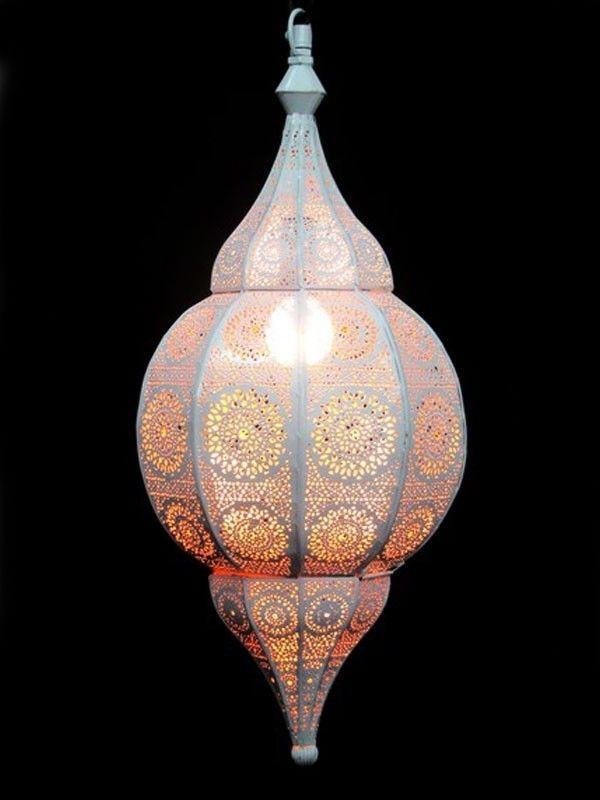 Lustre plafonnier suspension lampe luminaire lanterne marocaine