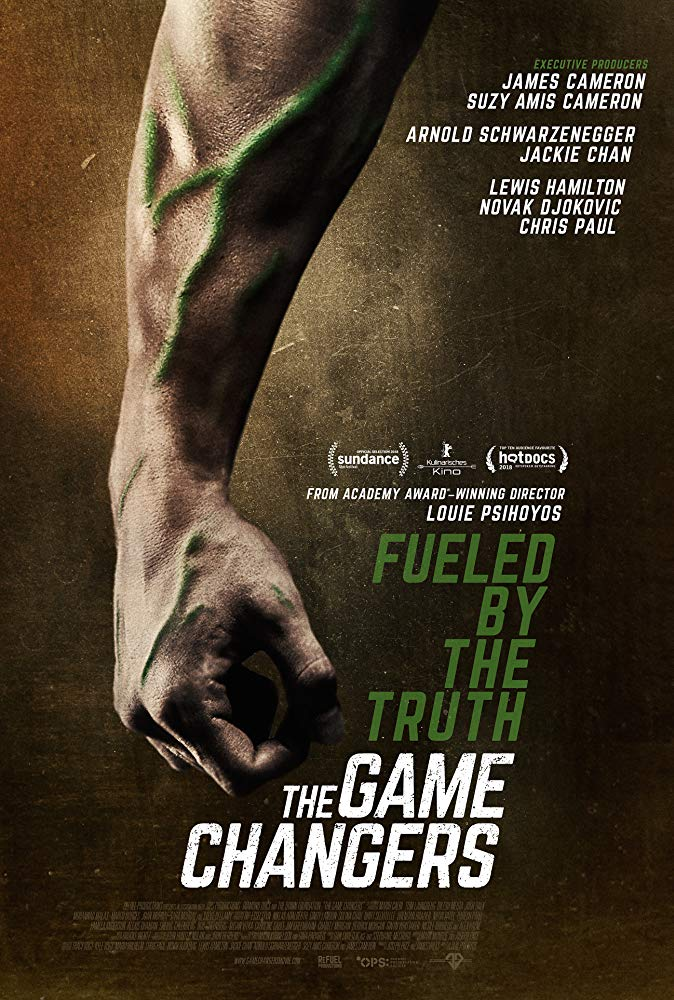 The Game Changers 2018 A Ufc Fighter S World Is Turned Upside Down When He Discovers An Elite Group Of World Documentaries Game Changer Netflix Documentaries
