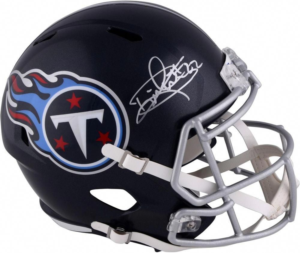Derrick henry tennessee titans autographed riddell speed