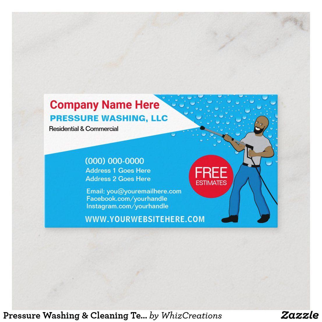 Park Art|My WordPress Blog_Pressure Washing Company Business Card
