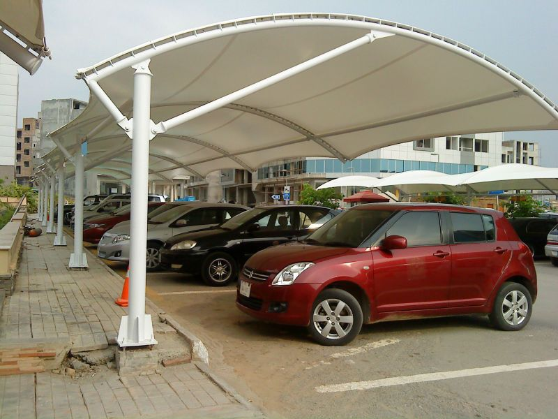 We are engaged in manufacturing a wide spectrum of car parking structures that can also be customized as per the mentioned requirements of our valued ... & Pin by Car Parking Shade In Uae on New Desing Car Parking Shade ...