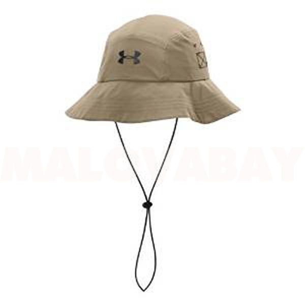 bb2e1af9b076f3 New Under Armour Men's Warrior Bucket Hat Black String #underarmour #Bucket