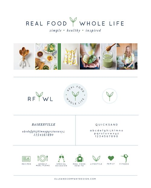 New Brand Website Design For Real Food Whole Life Food Blog Design Branding Website Design Website Branding