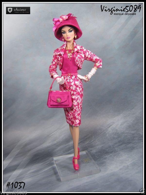Tenue Outfit Accessoires Pour Barbie Silkstone Vintage Integrity Toys 1037 | eBay