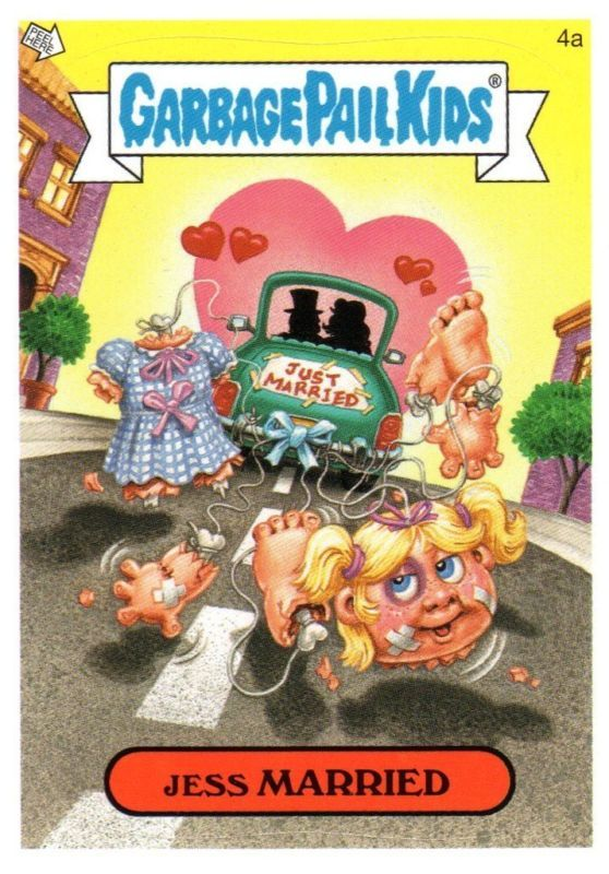 Junkfood john garbage pail kid jess married
