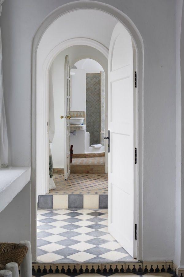 essouiara villa maroc  tiles and paint perfection