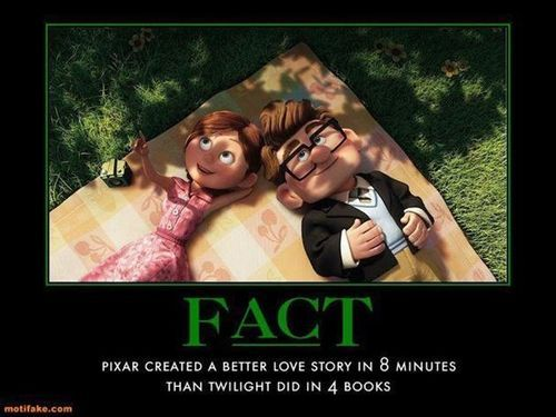 Still A Better Love Story Than Twilight Up Pixar Best Love