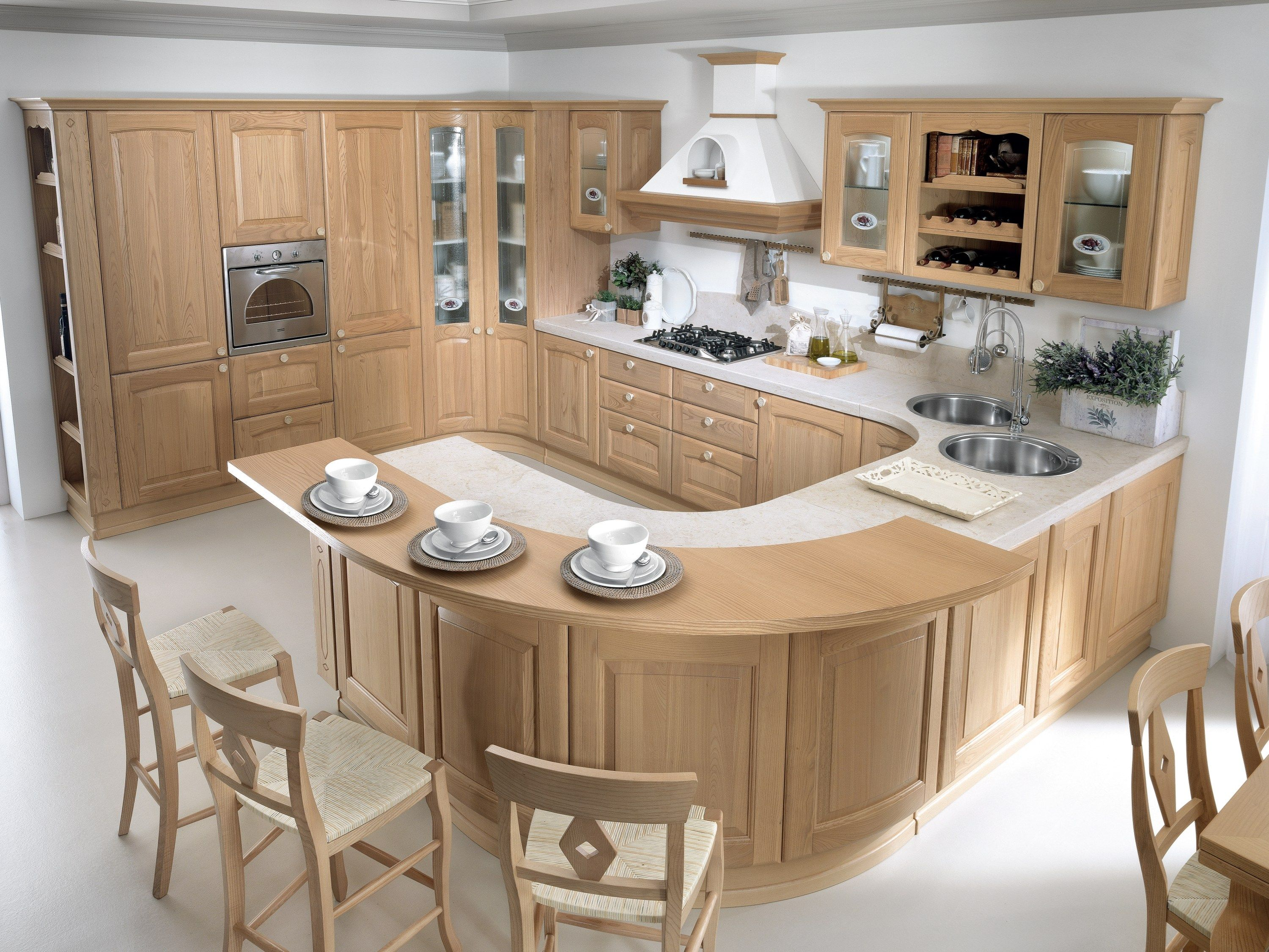 Cucina Lube Veronica.Chestnut Kitchen Veronica Collection By Cucine Lube