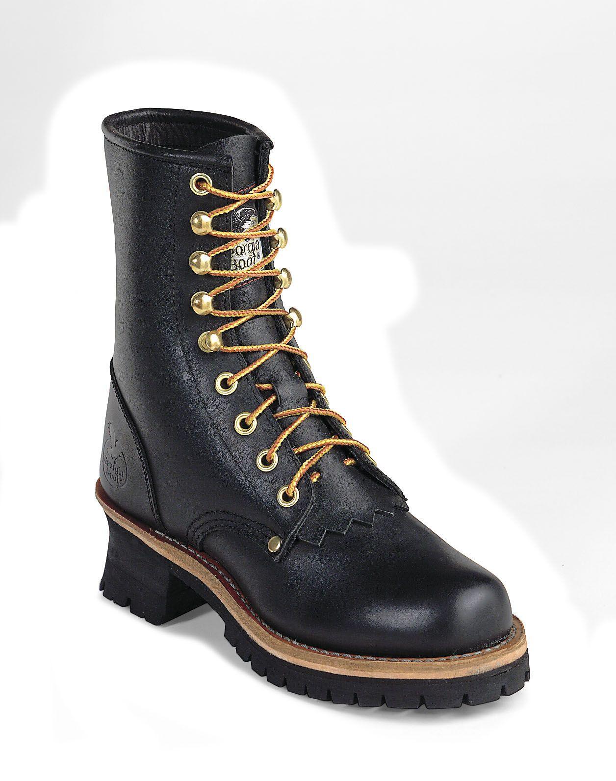 "8"" Georgia Women's Logger Work Boots -Style #G3290"