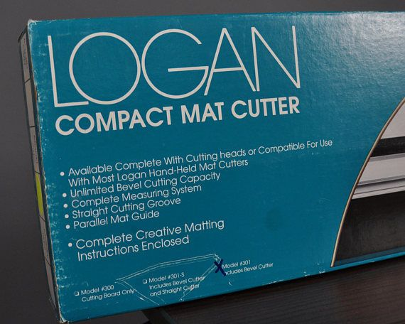 Logan Compact Mat Cutter 32 Model 301 Straight Craft Supplies Cutter Handmade
