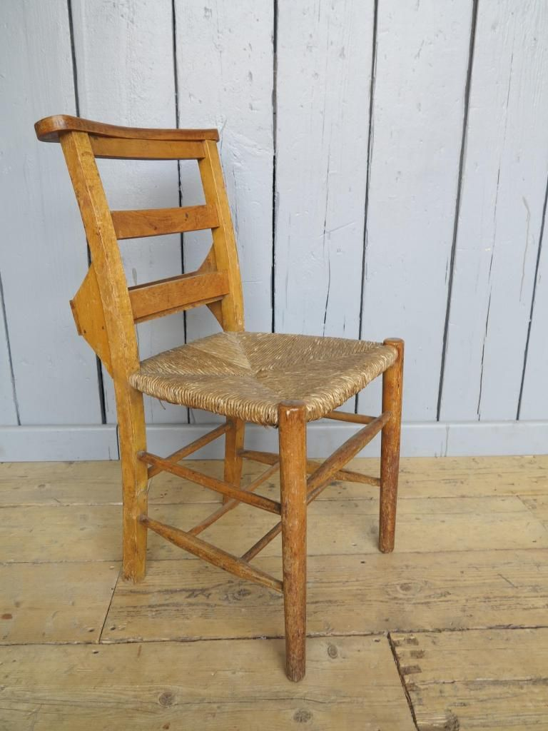 Rush Seated Antique Church Chairs With Book Holders 7404 - Rush Seated Antique Church Chairs With Book Holders 7404 Kitchen