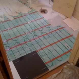 Radiant Heating Slate Floor In The Kitchen And Bathrooms Please - Does radiant floor heating need dedicated circuit