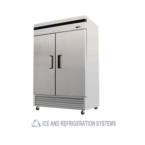 Stainless Steel 2 Door Commercial Reach In Refrigerator Cooler Ad Commercial Kitchen Equipment Locker Storage Refrigerator Cooler