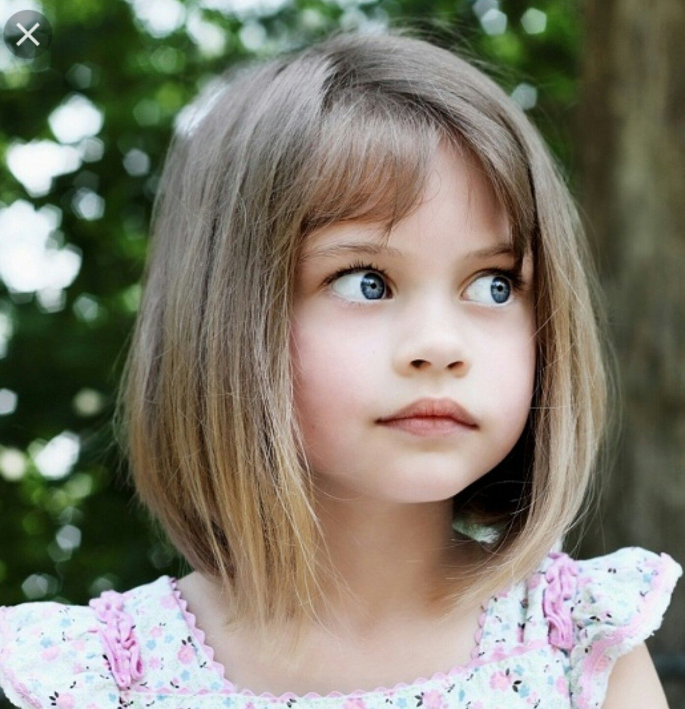 Elegante Kindermädchen Frisuren - Frisur  Little girl haircuts