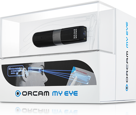 Orcam For The Blind And Visually Impaired Attaches To Your Glasses Assistive Technology Devices Reading Difficulties Reading Technology