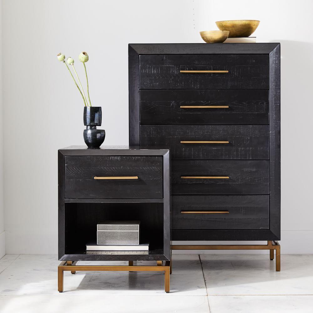 Alexa Burnished Nightstand In 2020 Bedroom Collections Furniture Furniture Black Bedroom Furniture [ 1000 x 1000 Pixel ]