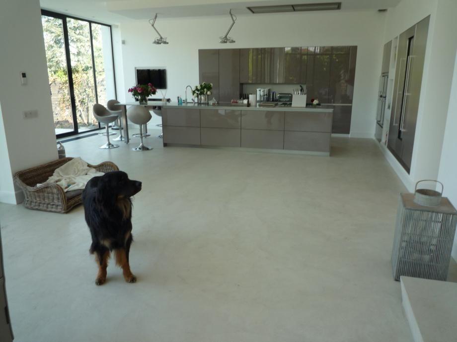 Beton Cire Vloeren Interior Pinterest Concrete floor