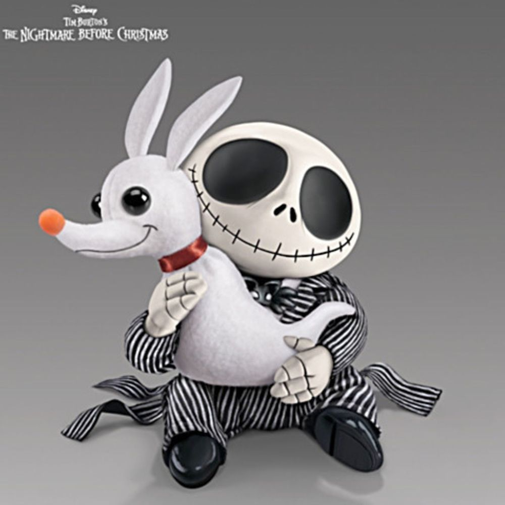 Nightmare before christmas xmas doll plush jack skellington zero nightmare before christmas xmas doll plush jack skellington zero dog jay stuckwich sculpt design publicscrutiny Images