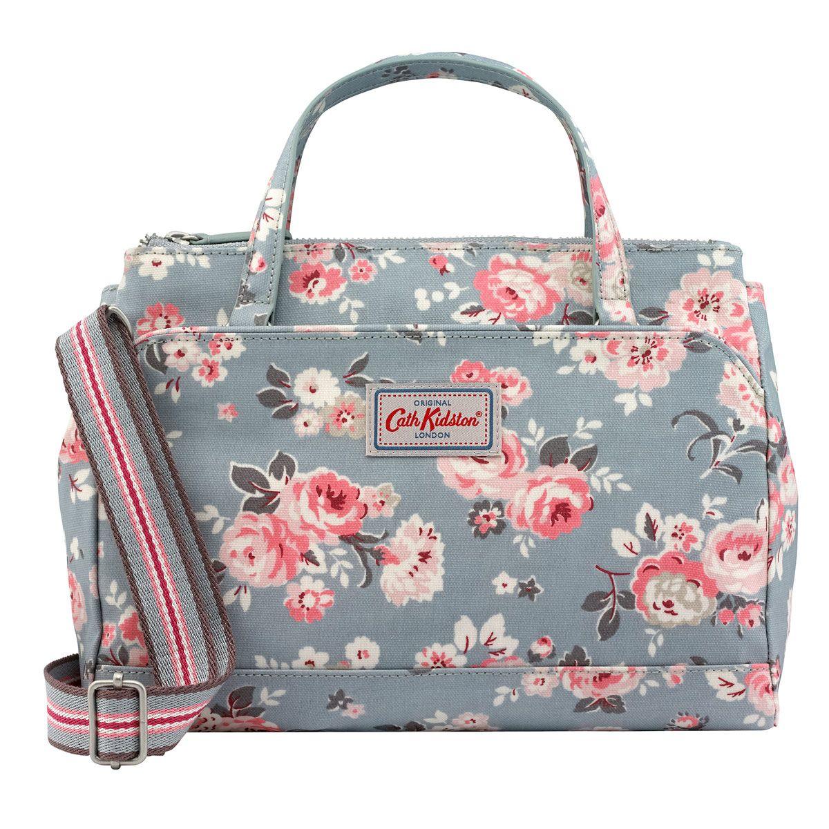 319dcfb9b49d Wells Rose Mini Multi Pocket Handbag   Handbags   CathKidston ...
