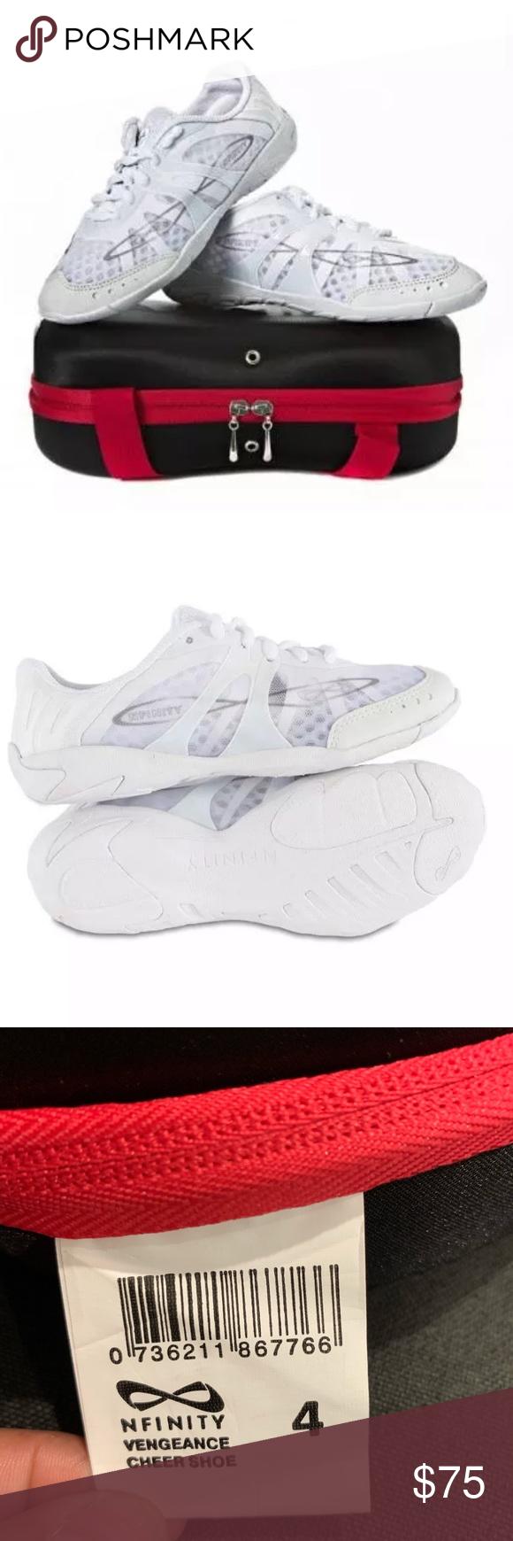 Nfinity Vengeance Youth Cheer Shoe Size 4 Girls Size 4 Cheer Shoes Brand New Nfinity Shoes Athletic Shoes Youth Cheer Shoes Cheer Shoes Youth Cheer