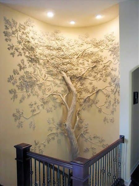 Tree Wall Art - How awesome is this?! | DIY Decor | Pinterest | Tree ...